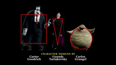 Hotel Transylvania: Look of Picture